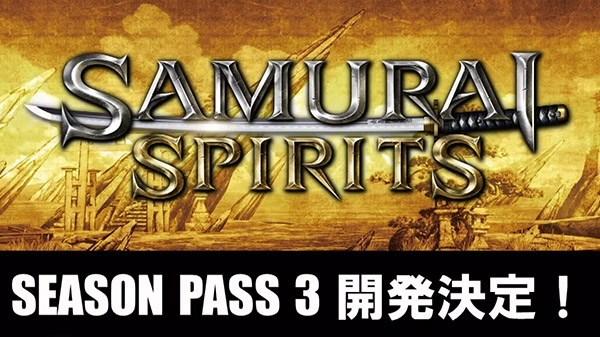 Samurai Shodown - Saison 3 DLC