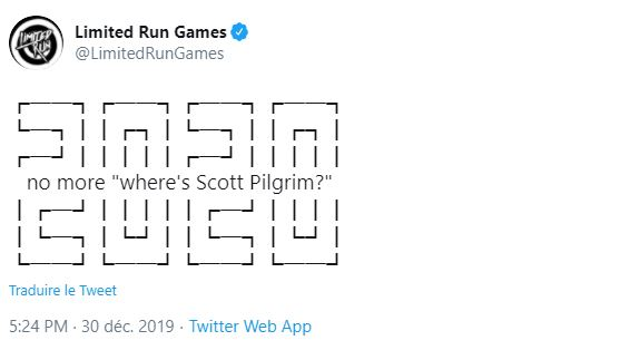 Tweet Scott Pilgrim LRG
