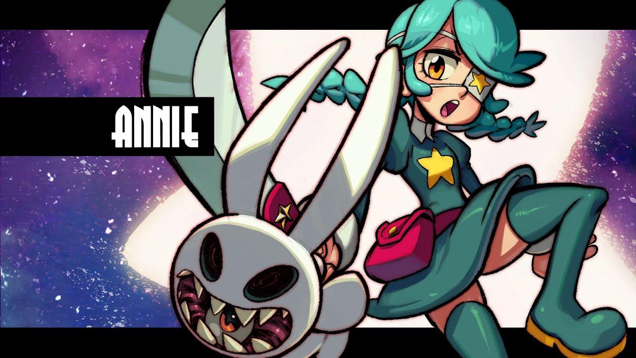 Annonce du nouveau personnage Annie sur Skullgirls Mobile