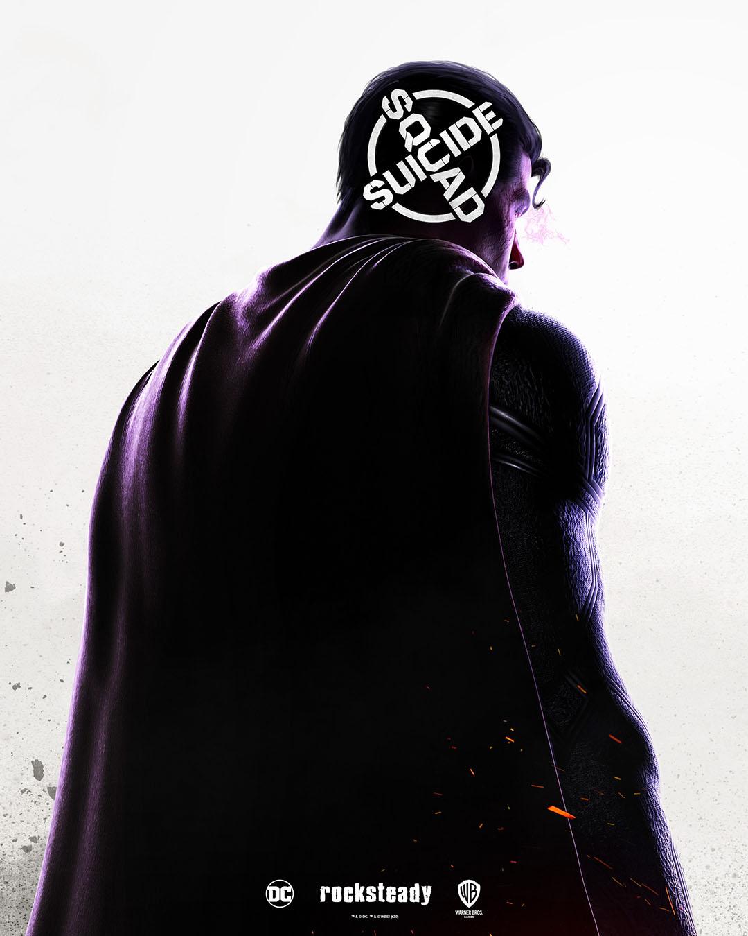 Suicide Squad jeu poster