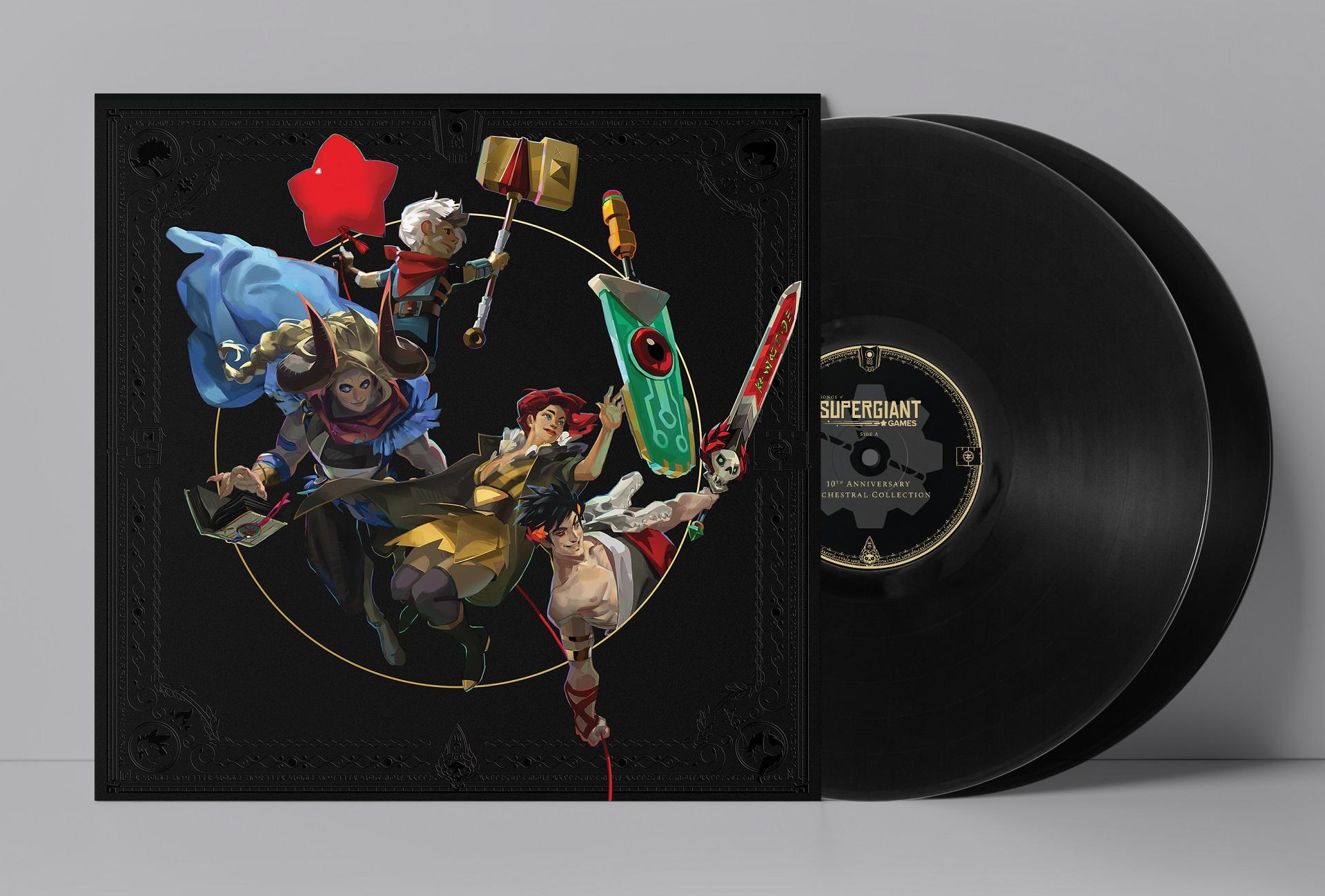 Supergiant Games - Vinyles édition limitée
