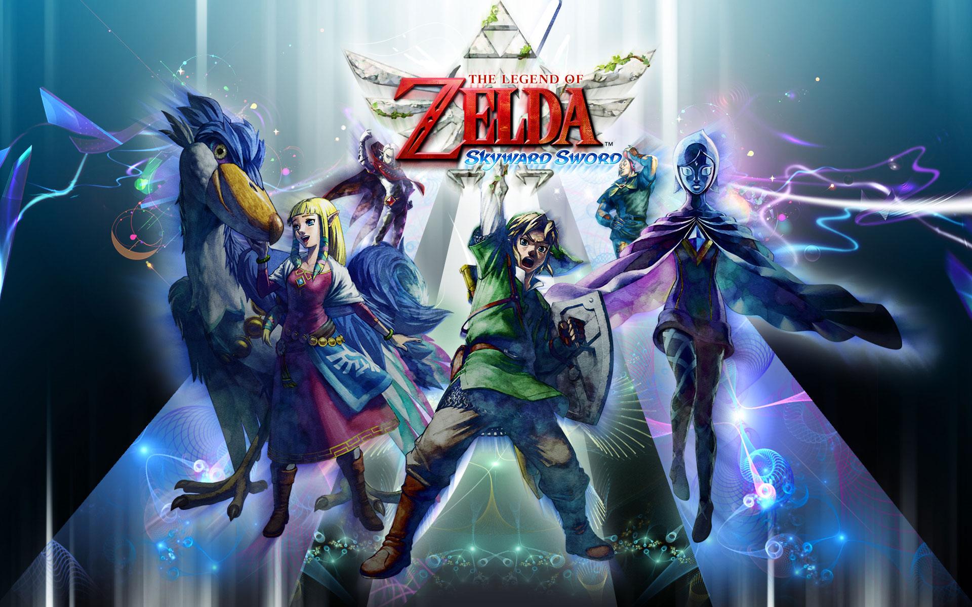 The Legend of Zelda: Skyward Sword - Characters