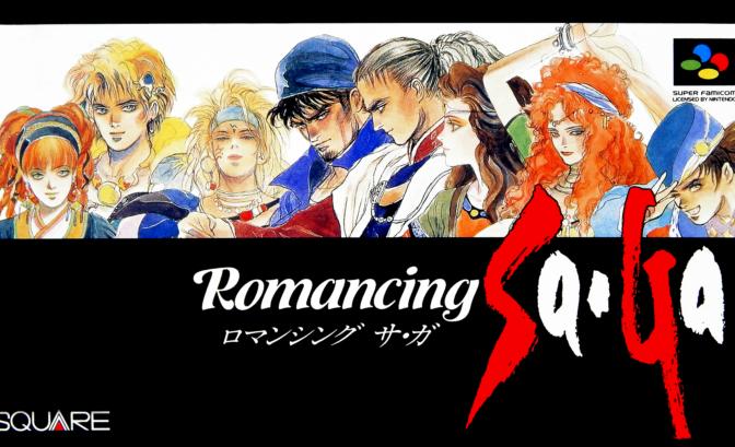 Collection of SaGa : Final Fantasy Legend - jaquette Romancing SaGa