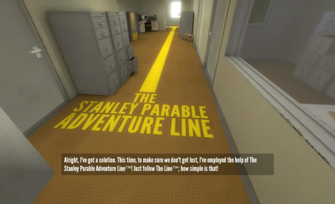 The Stanley Parable debut