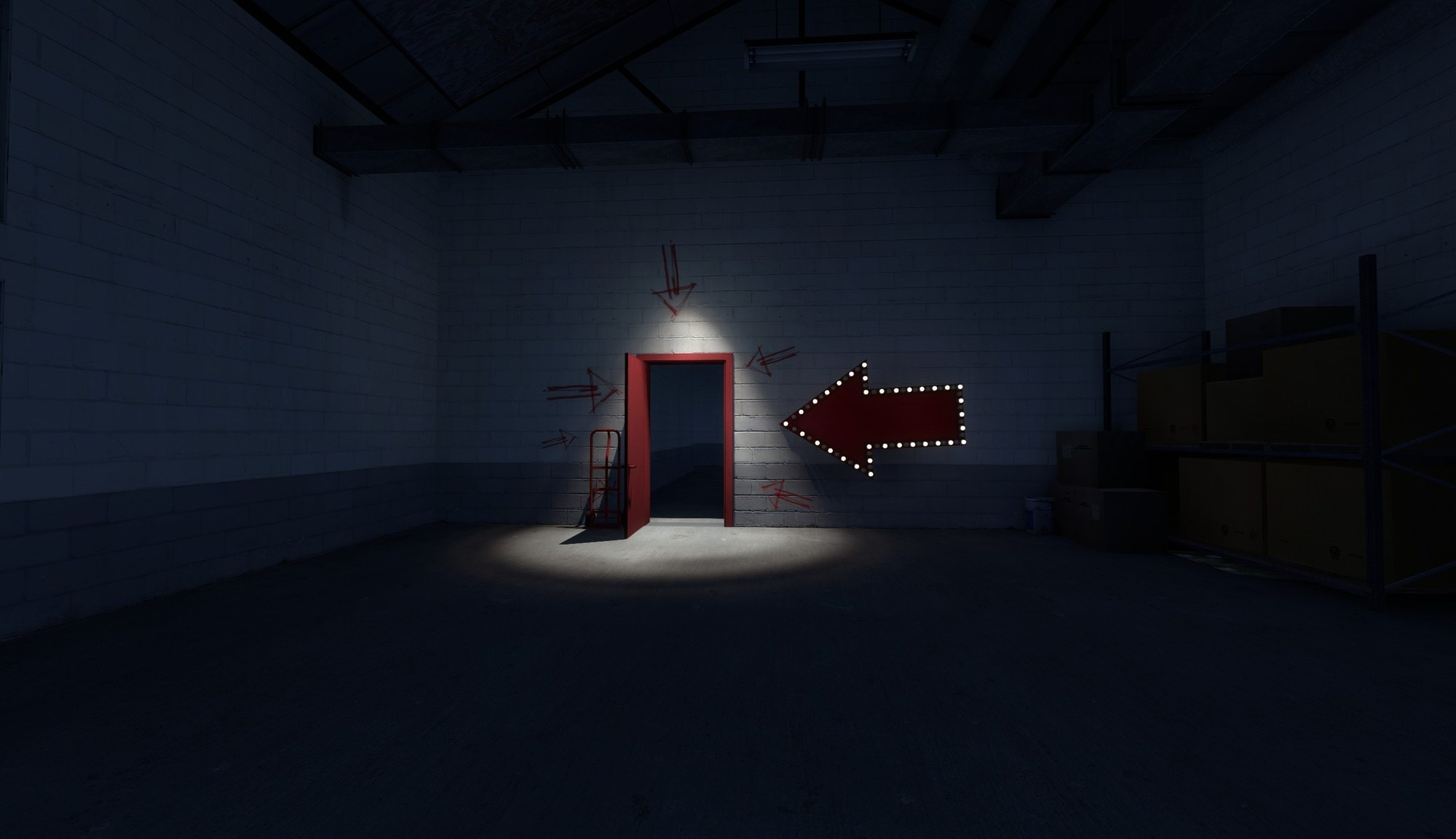 The Stanley Parable porte