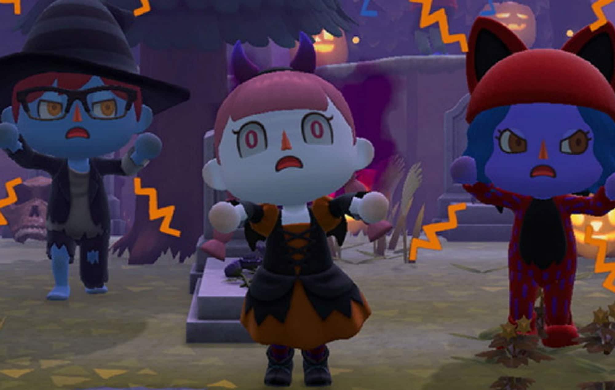 Mise à jour d'automne pour Animal Crossing: New Horizons