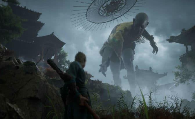 Black Myth : Wukong - Wukong face à un titan ?