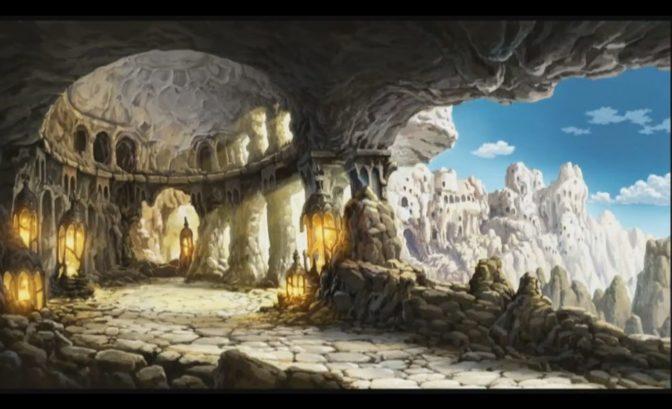 Nintendo 3DS -Bravely Default - décor