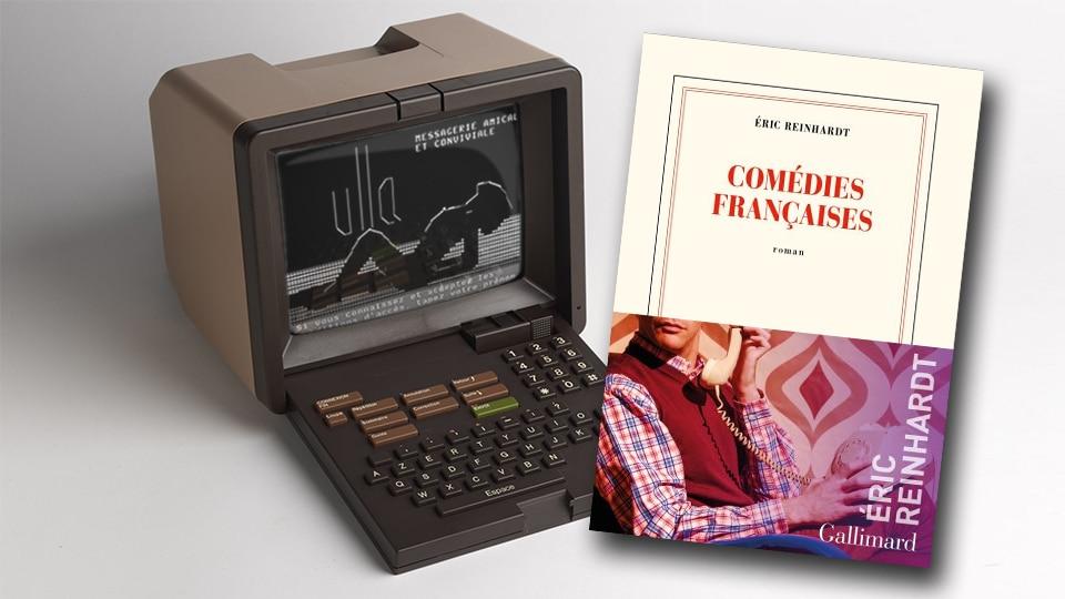 Comédies Françaises couverture et minitel