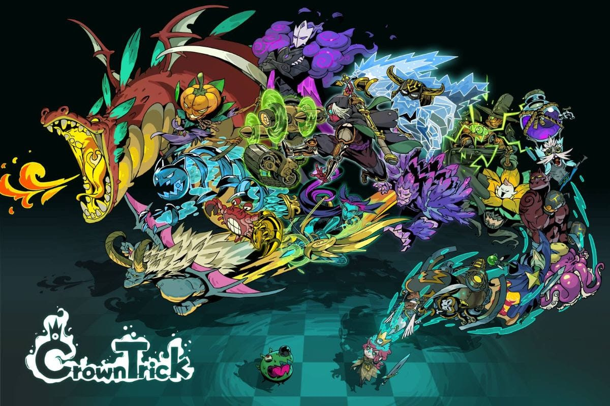 Crown Trick - un bel artwork