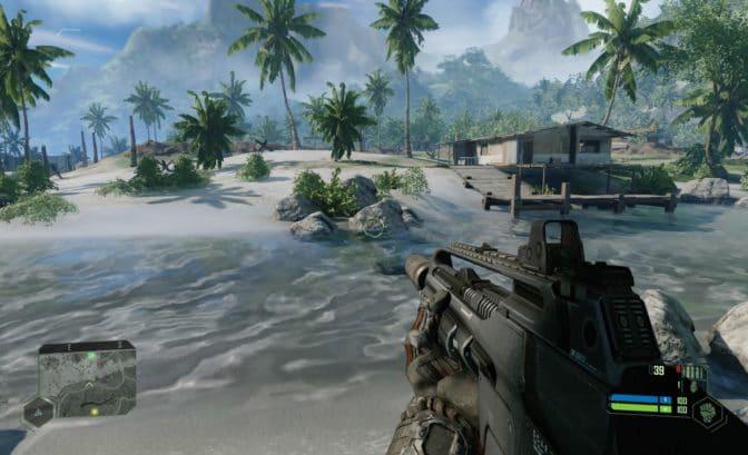 Nouveaux graphismes sur Crysis Remastered