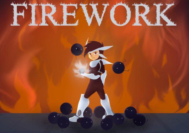 Firework écran titre