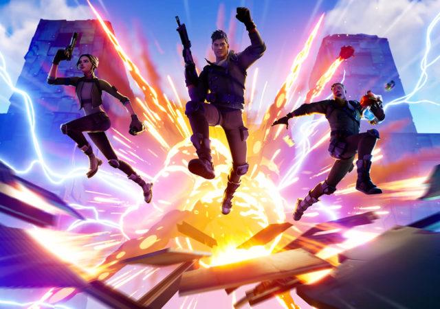 Fortnite - Explosion