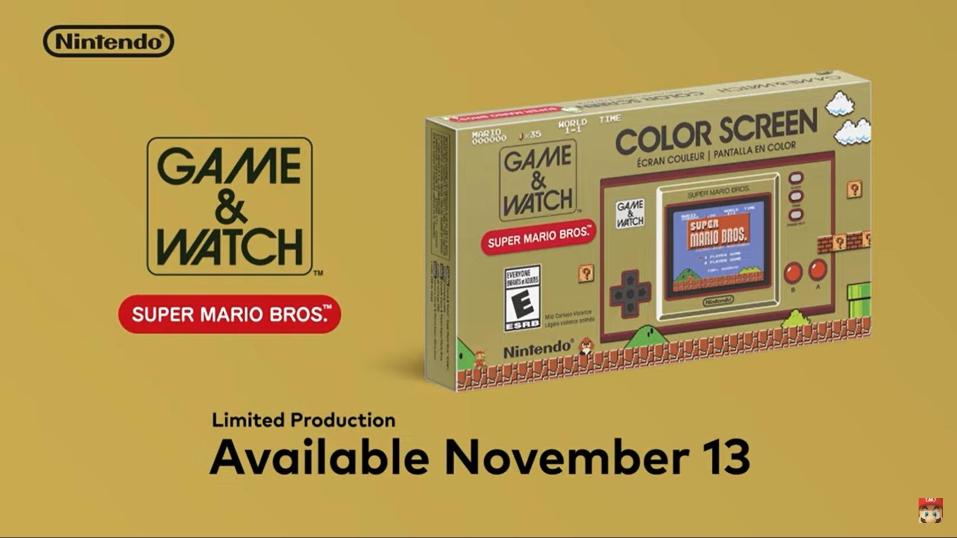 Game and Watch Super Mario Bros - La Machine