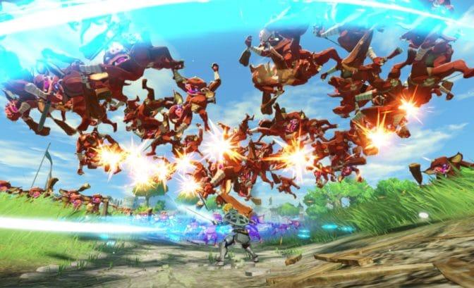 Hyrule Warriors : L'Ère du Fléau - Link tornade