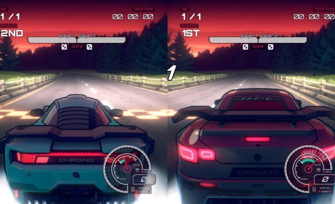 Inertial Drift 2 joueurs