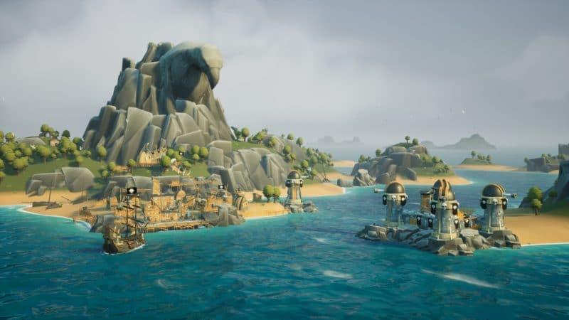 les différentes île regorgeront de ressources