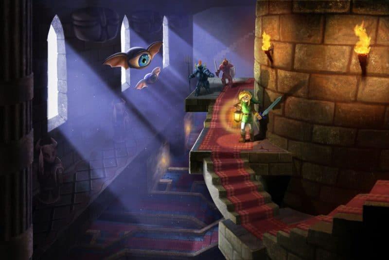Link Between Worlds - Link between walls