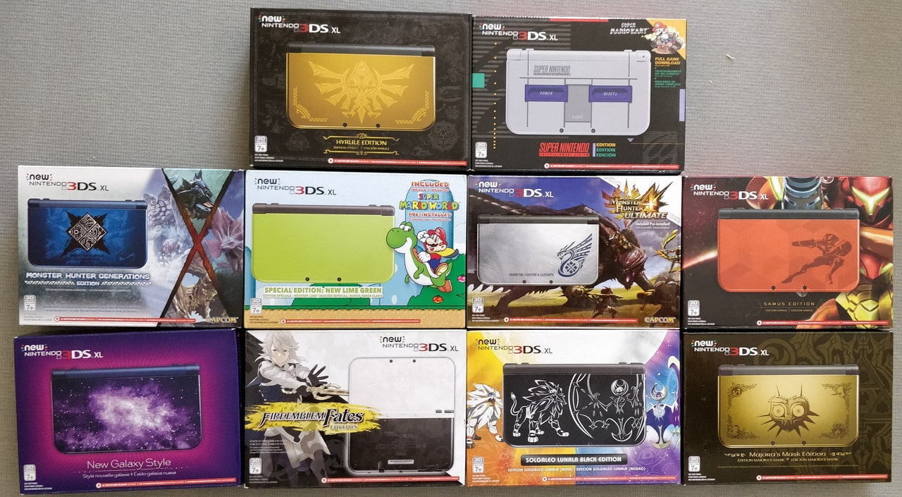 Nintendo 3DS - Collection console
