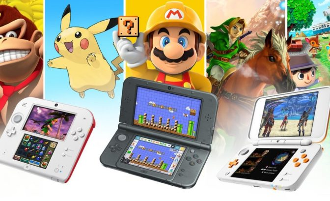 Nintendo 3DS - Formes et jeux
