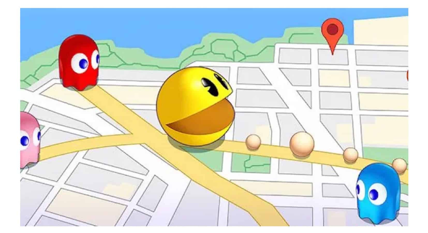 Pac-Man Geo Cover Art Annonce