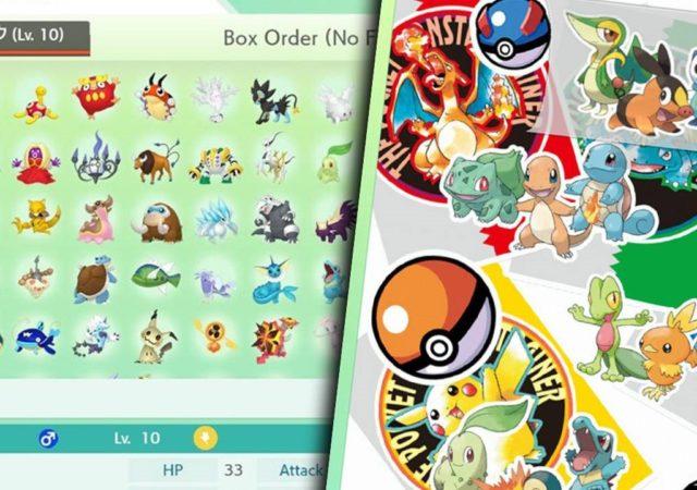 Pokémon Home - des monstres et des boîtes