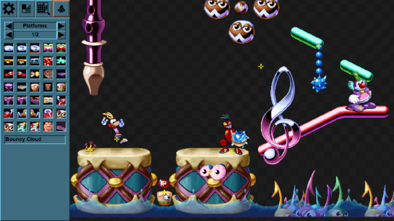 Rayman Redesigner creation de niveau avec point de sauvegarde