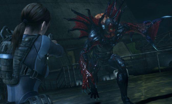 Resident Evil Revelations - Jill et zombies