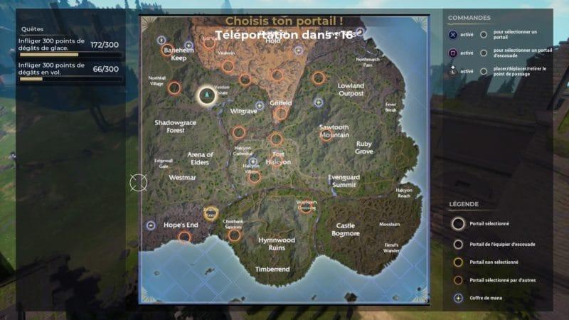 Carte du jeu Spellbreak sur PS4
