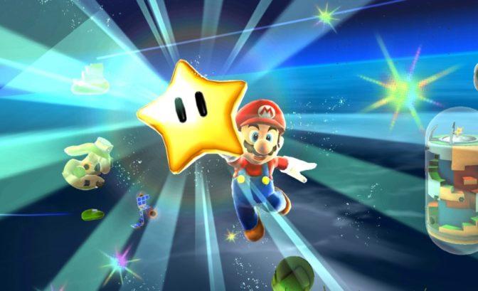 Super Mario 3D All-Stars - Mario obtient une étoile