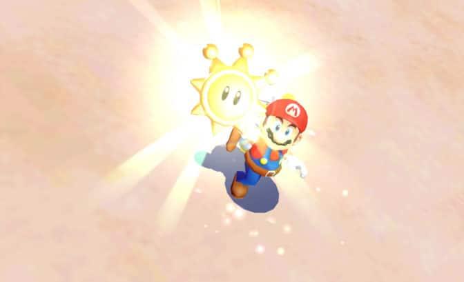 Super Mario 3D All-Stars - Mario obtient un soleil