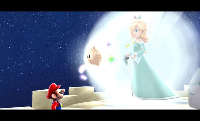 Super Mario 3D All-Stars - Mario rencontre Harmonie