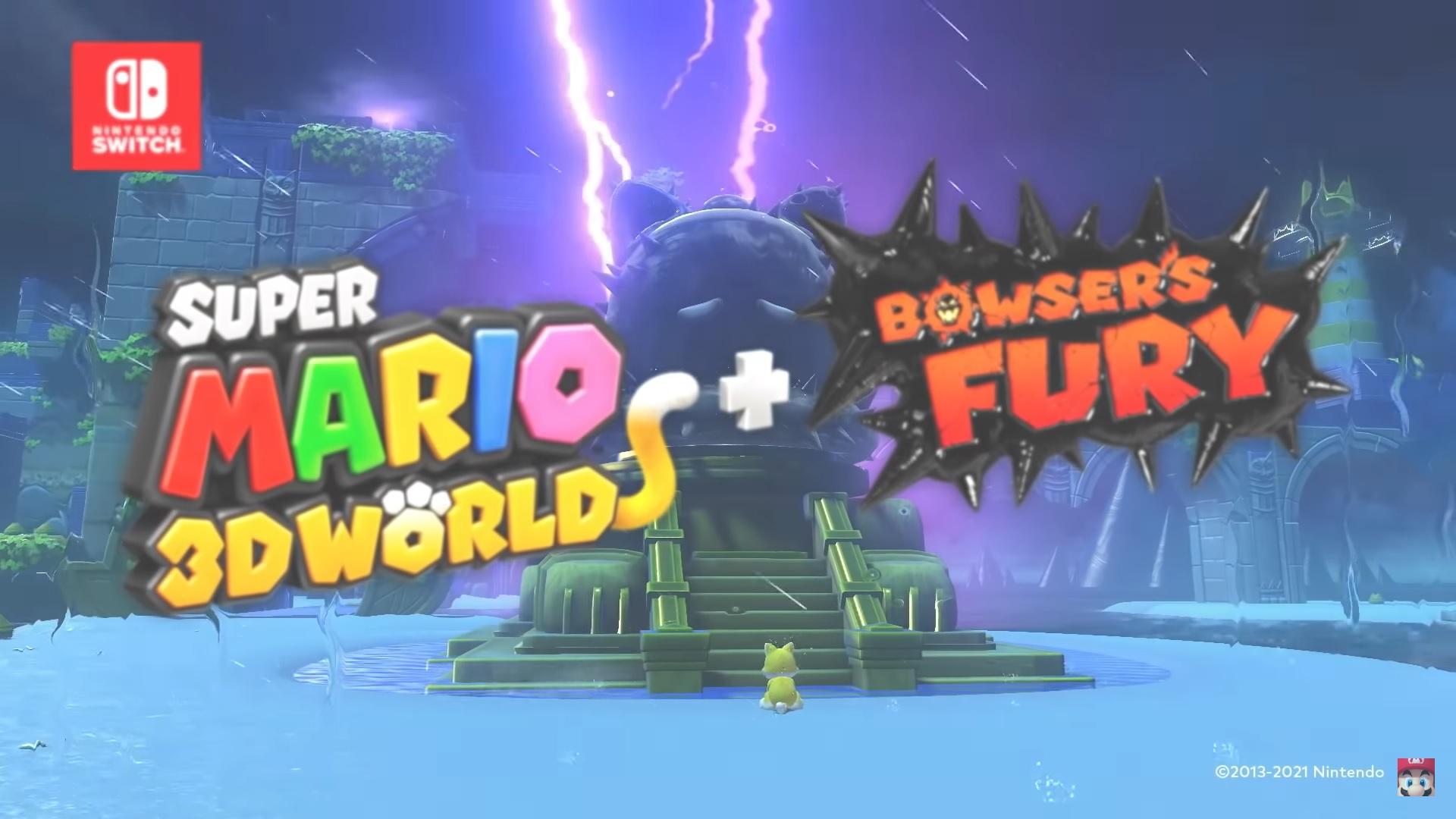 Super Mario 3D World + Bowser's Fury - Add-on