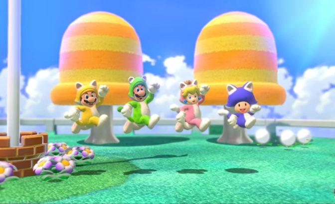 Super Mario 3D World + Bowser's Fury - Team Cat