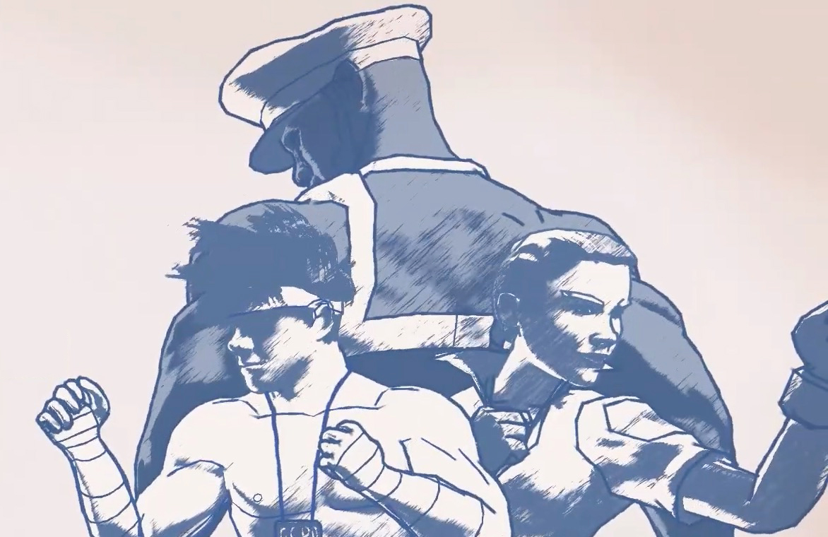 Super Punch Patrol héros