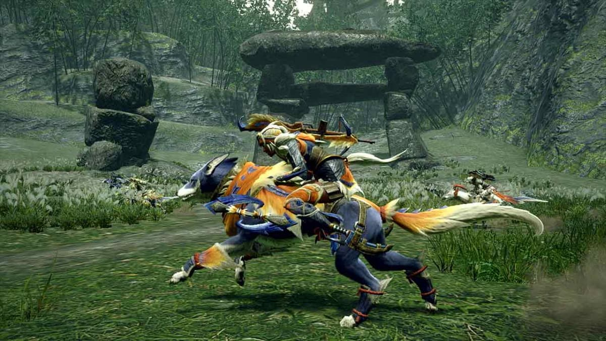 Monster Hunter Rise chien switch