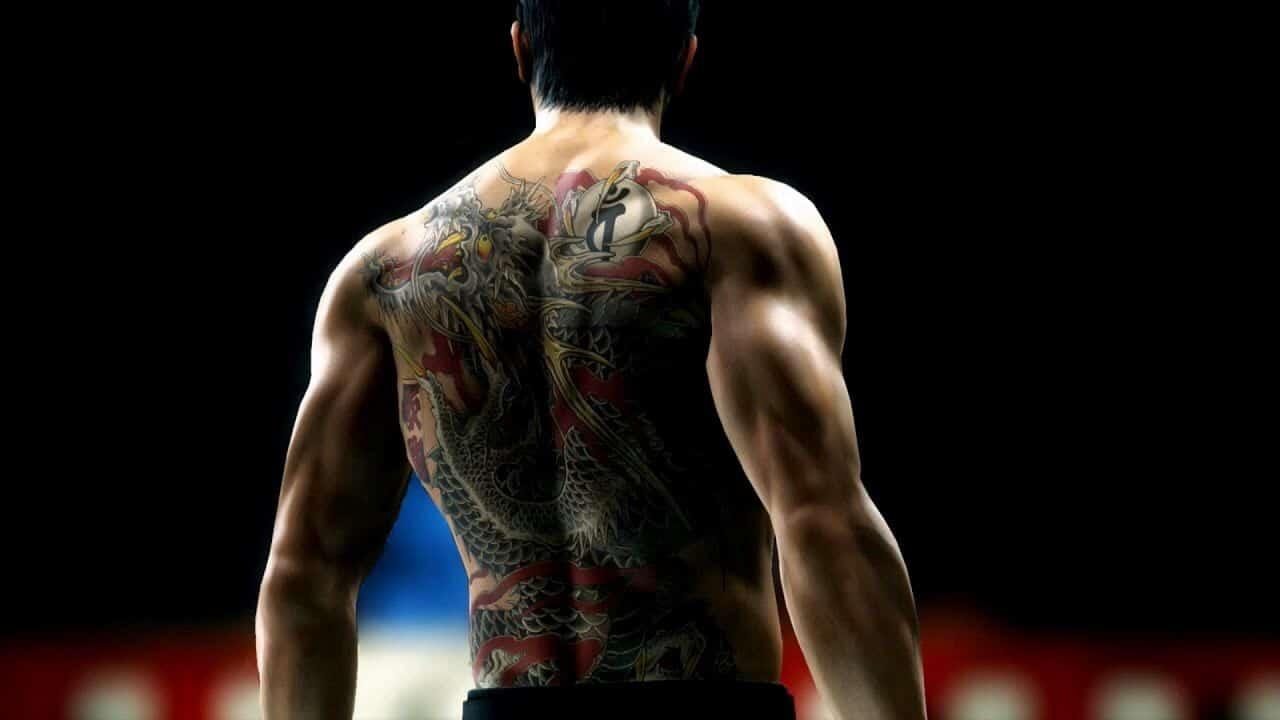 Tatouage Kiryu Yakuza