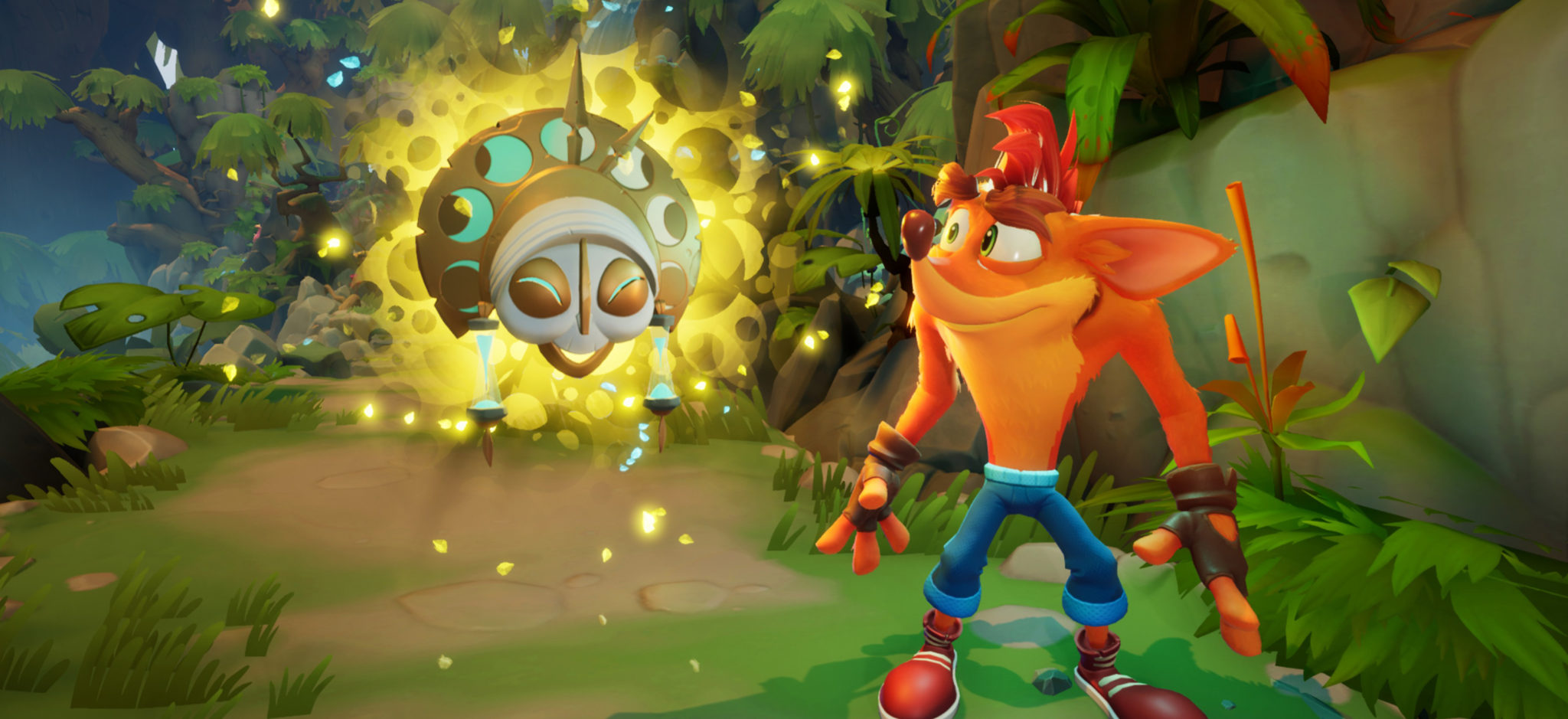 Crash Bandicoot 4 : It's about Time masque