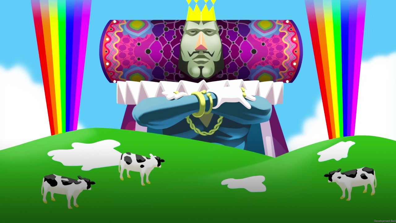 katamari damacy reroll king and his cows