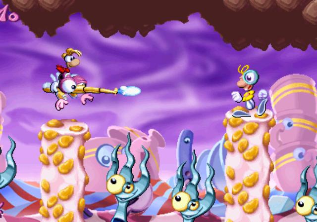 Rayman Redemption Boss du monde des bonbons