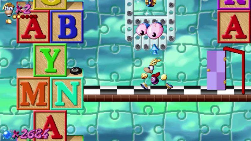 Rayman Redemption Monde des jouets