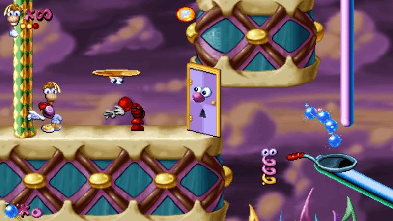 Rayman Redesigner gameplay d'un niveau crée