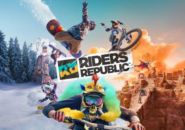 le nouveaux jeu Ubisoft Riders Republic