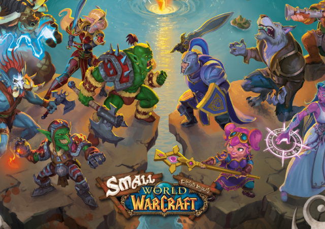 Smal World of Warcraft box art
