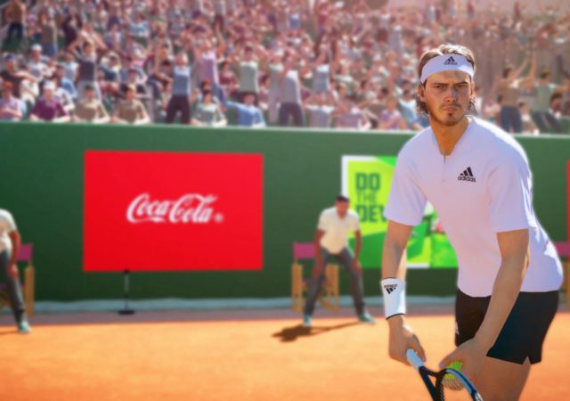 test tennis world tour 2 - Tsitsipas