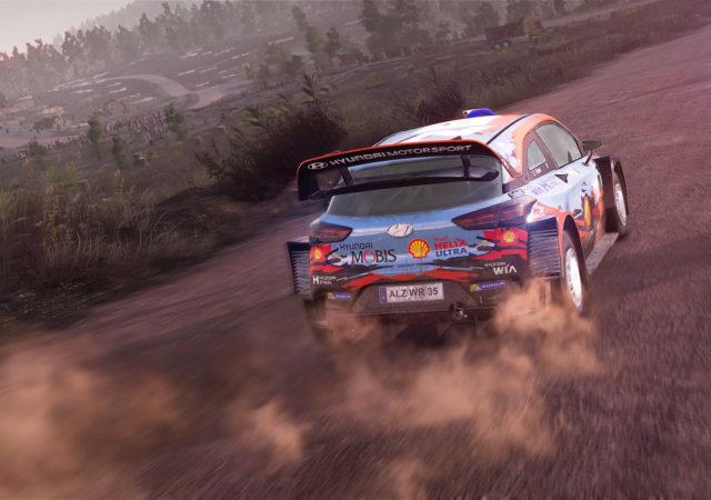 test wrc 9 - Hyundai
