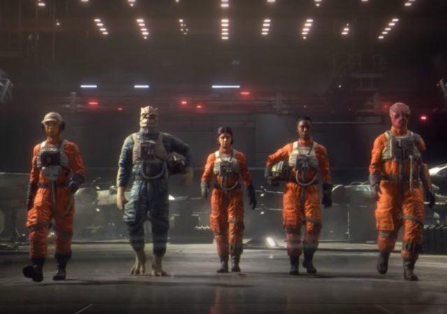 Star Wars: Squadrons équipe