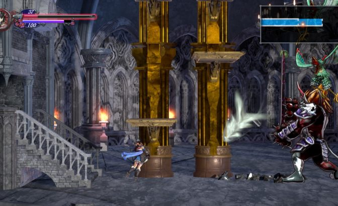 Bloodstained combat