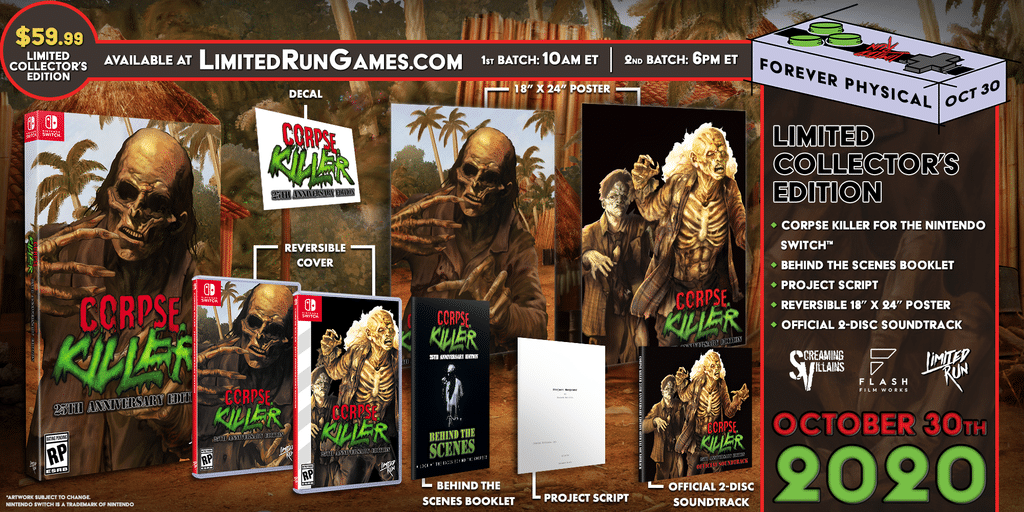 Corpse Killer - L'edition collector Limited Run Games