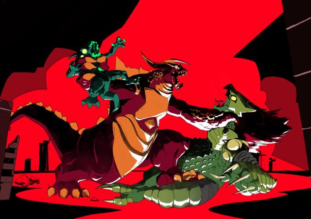 Dawn of Monsters - Kaiju VS Nephilim
